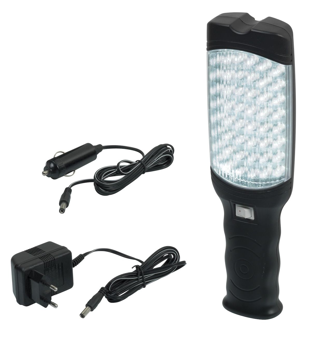 lampe baladeuse 48 leds rechargeable allume cigares prpl48led b ebay. Black Bedroom Furniture Sets. Home Design Ideas